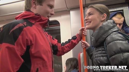 познакомились в метро русское порно