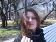 Русская девушка Татьяна получает удовольствие от секса
