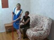 Сын трахает свою русскую мать