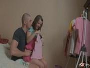 Русский оргазм с молодой девочкой и лысым татарином